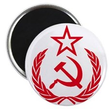 hammer sickle red Magnet
