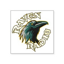 "raven2012logo Square Sticker 3"" x 3"""