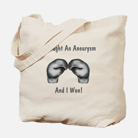 I Fought An Aneurysm Tote Bag