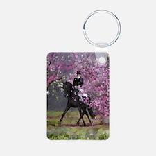 dressage horse 8x11 Keychains