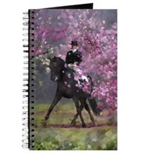 dressage horse 8x11 Journal
