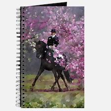 dressage horse 8x11 Journal