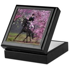 dressage horse 8x11 Keepsake Box