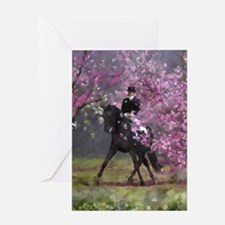 dressage horse 8x11 Greeting Card