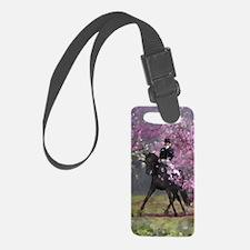 dressage horse 2x4 Luggage Tag