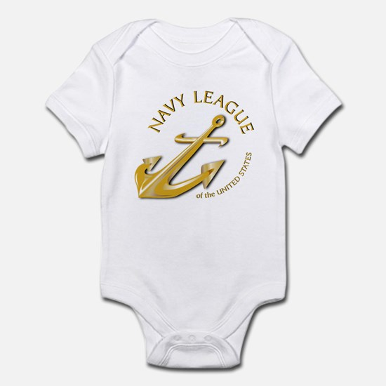 Navy League Infant Bodysuit