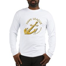 Navy League Long Sleeve T-Shirt