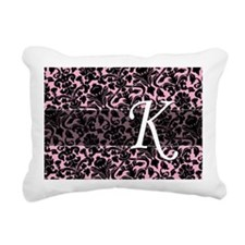 K_bags_monogram_04 Rectangular Canvas Pillow