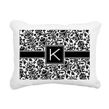 K_bags_monogram Rectangular Canvas Pillow