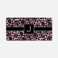 J_bags_monogram_02 Aluminum License Plate