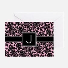 J_bags_monogram_02 Greeting Card