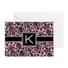 K_bags_monogram_02 Greeting Card