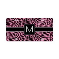 M_bags_monogram_06 Aluminum License Plate