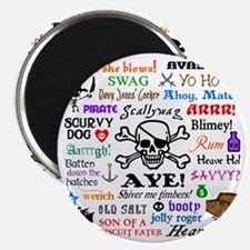 Pirate Phrases Magnet