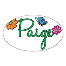 Paige Decal