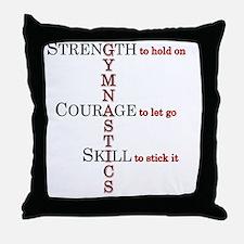 gymstrength Throw Pillow