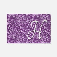 H_bags_monogram_07 Rectangle Magnet