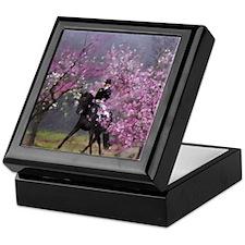 dressage horse 7x9 Keepsake Box