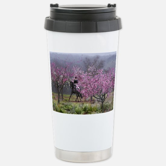dressage horse 12x20 Stainless Steel Travel Mug