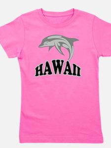Hawaii Dolphin Girl's Tee