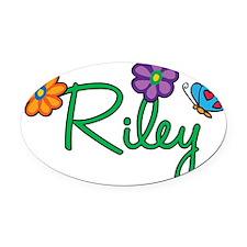 Riley Oval Car Magnet