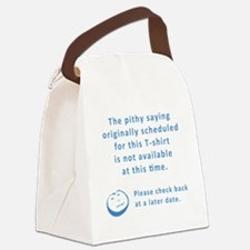 Pithy_Saying Canvas Lunch Bag