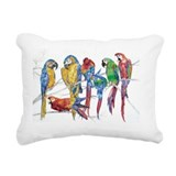 Parrot Rectangle Canvas Pillows