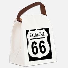 rt66-plain-ok-OV Canvas Lunch Bag