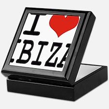 I love Ibiza Keepsake Box