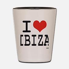 I love Ibiza Shot Glass