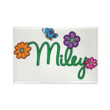 Miley Rectangle Magnet