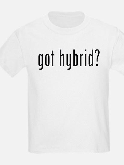 got hybrid? Kids T-Shirt