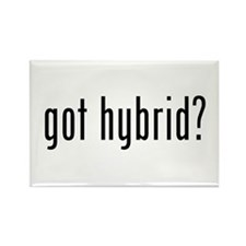 got hybrid? Rectangle Magnet