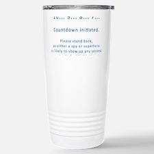 Countdown Stainless Steel Travel Mug