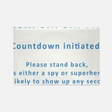 Countdown Rectangle Magnet
