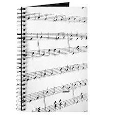 sheet music Journal