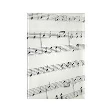 sheet music Rectangle Magnet