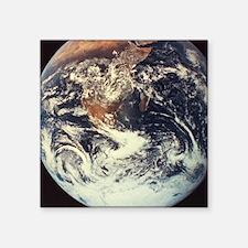 """planet earth Square Sticker 3"""" x 3"""""""