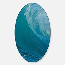 waves Sticker (Oval)