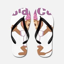 bianca-g-monkey Flip Flops