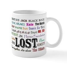 lostcollagerect Mug