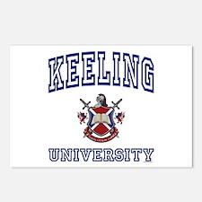 KEELING University Postcards (Package of 8)