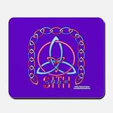 Peace Triquetra Mouse Pad