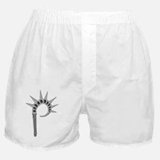 Liberty P White Boxer Shorts