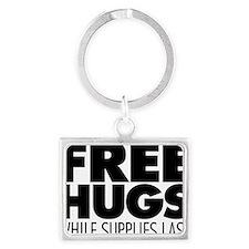 Free Hugs Landscape Keychain