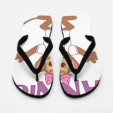 annie-g-monkey Flip Flops