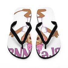 breanna-g-monkey Flip Flops