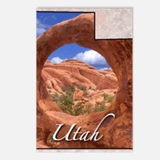 UtahMap28 Postcards (Package of 8)
