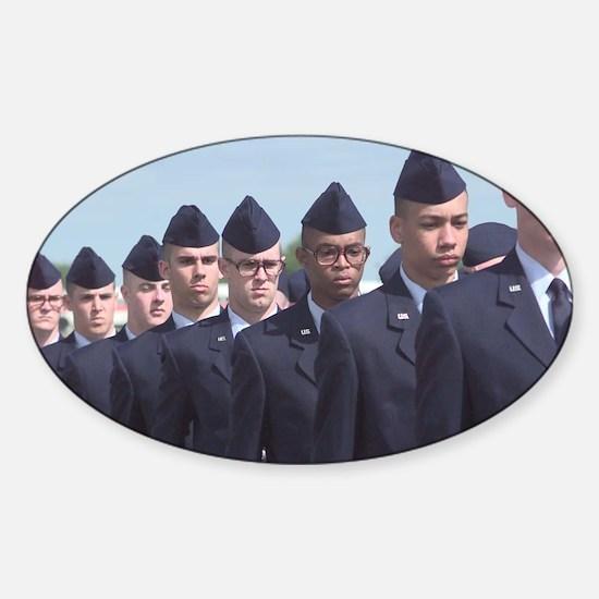 USAF Front Sticker (Oval)