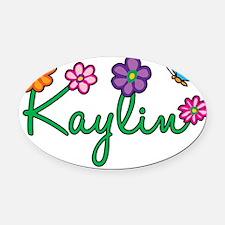 Kaylin Oval Car Magnet
